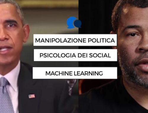 Manipolazione politica sul web e machine learning, deepfake e intelligenza artificiale, psicologia dei social media e distribuzione virale