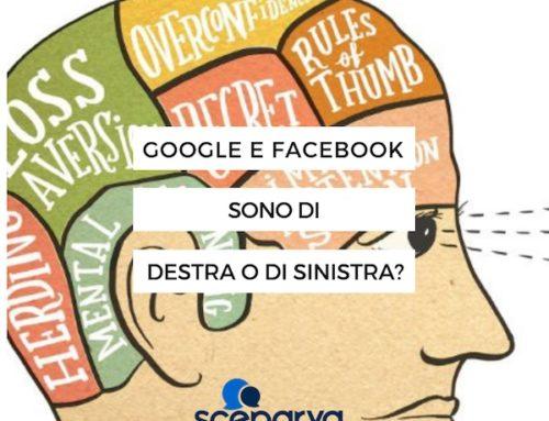 Gli algoritmi di Facebook e di Google sono di destra o di sinistra?